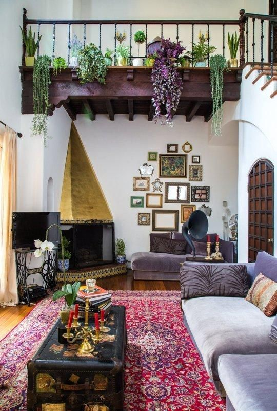 How to Mix and Match in Style while Decorating with Colors ... on Bohemian Living Room Decor Ideas  id=68286