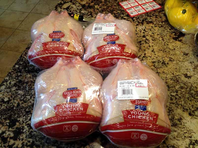 Homemade Chicken Dog Treats