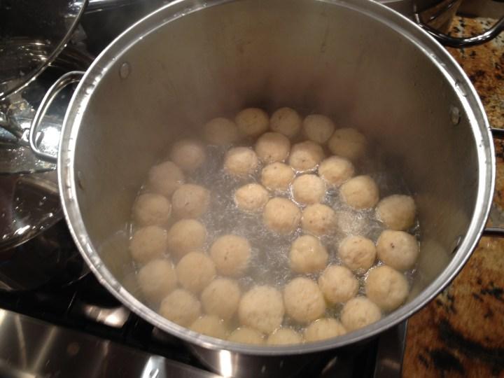 Homemade Matzo Balls