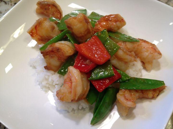 Quick Shrimp Stir-Fry