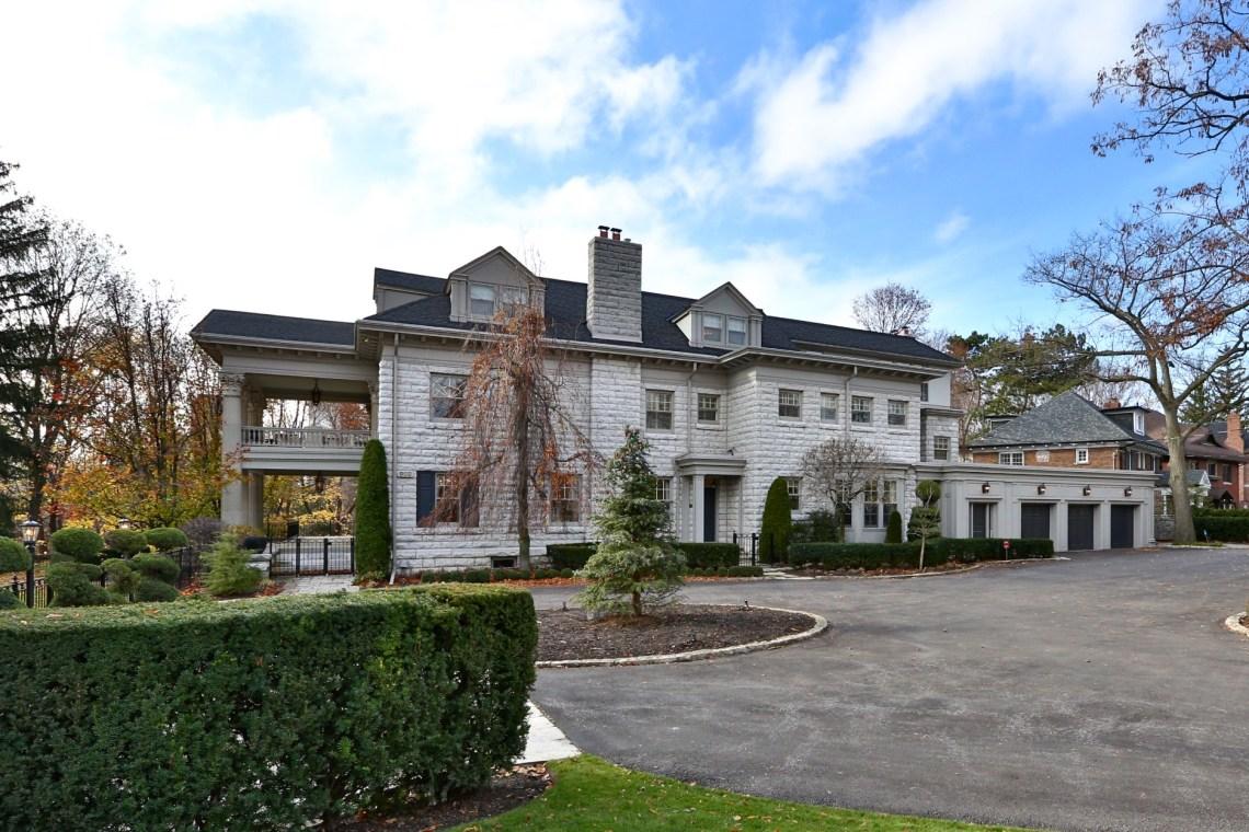 Glendoveer aka 120 Inglewood Drive lists at $16.8M