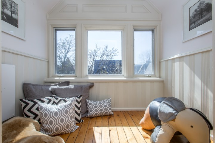 123 Bedford Road - Bedroom with wainscotting