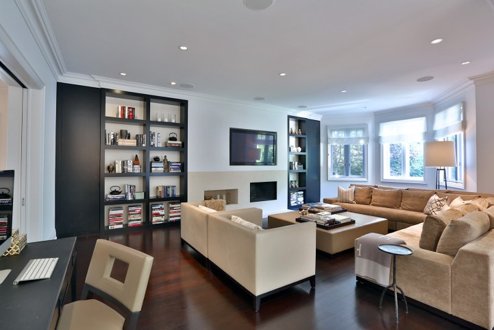 157 South Drive - Family Room From Desk