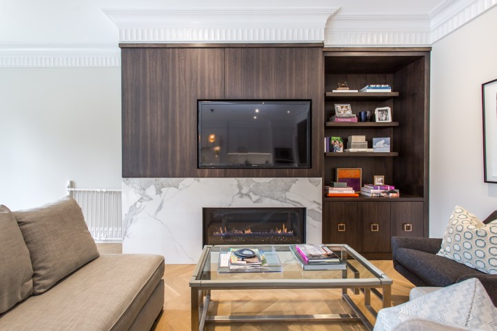 181 Crescent Road - Family Room Console
