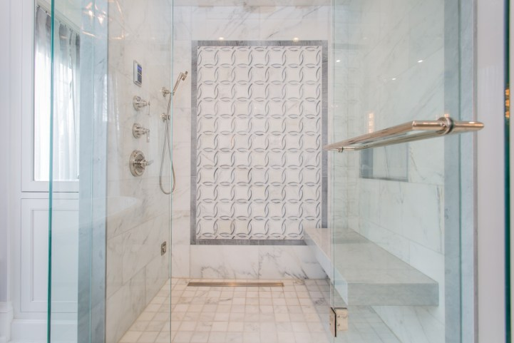 181 Crescent Road - Master Bedroom Bathroom Shower