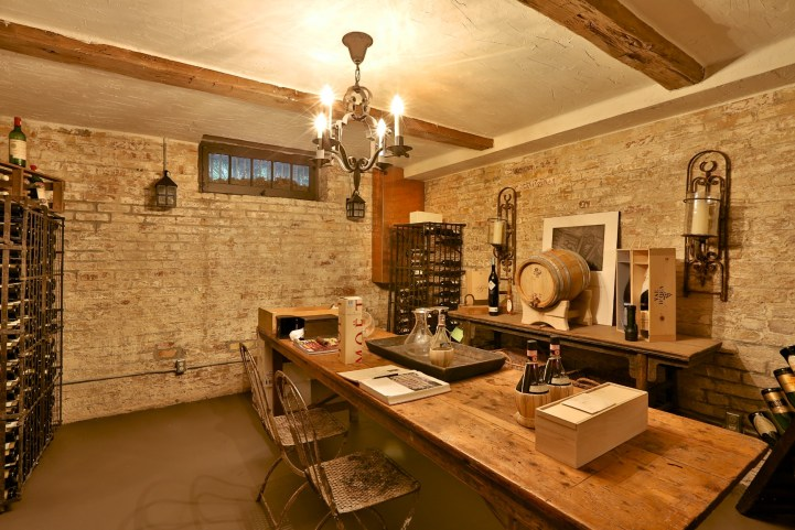 230 Russel Hill Rd - Wine Cellar Table