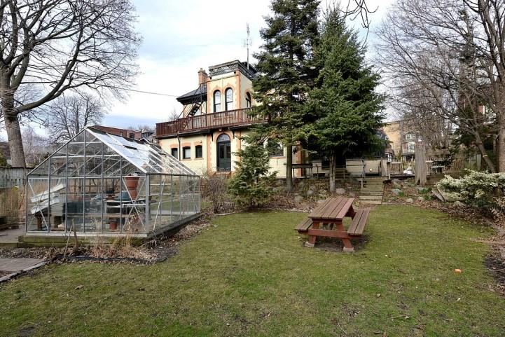 32 Beaty Avenue - Backyard Greenhouse