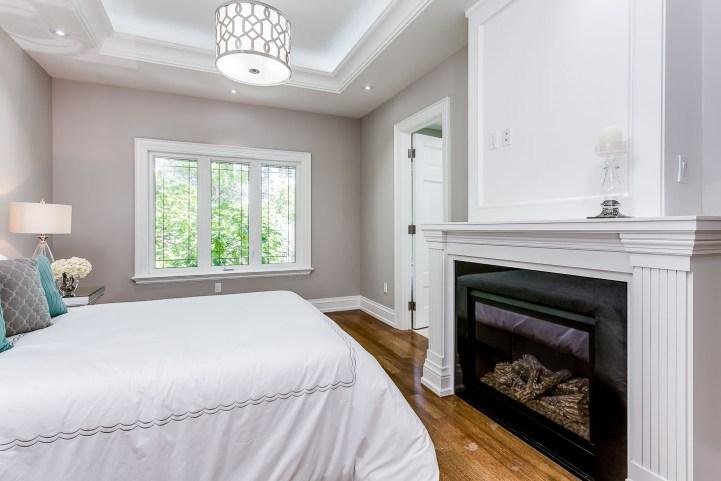 390 Brookdale Avenue - Master Bedroom Fireplace