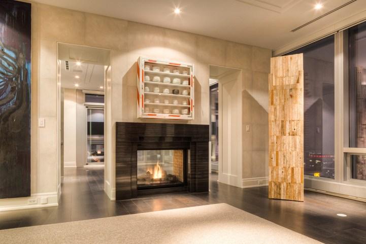 #5002 - 50 Yorkville Avenue - Fireplace