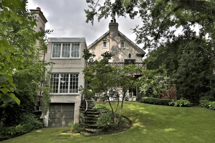 412 Russell Hill Road - Exterior Backyard