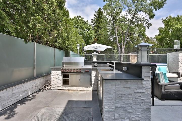 110 Arjay Crescent - Backyard Kitchen