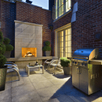 12 Macpherson Avenue - Backyard With Fireplace And Gas Hookup