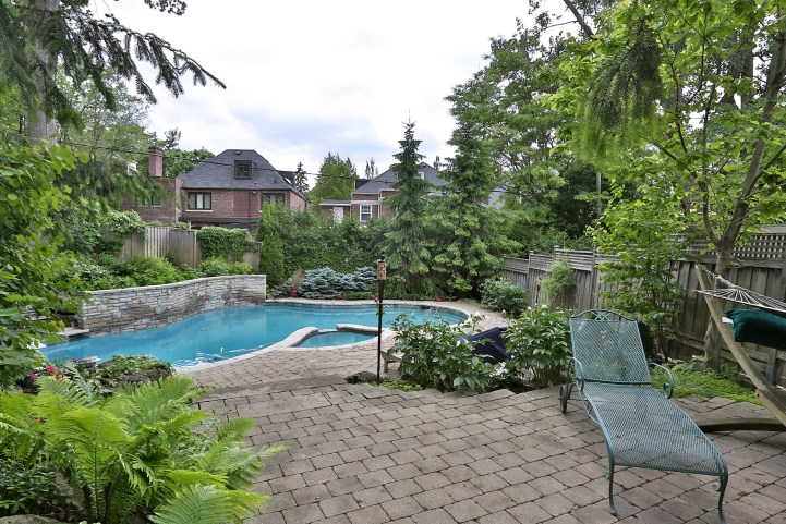 376 Russell Hill Road - Backyard Pool