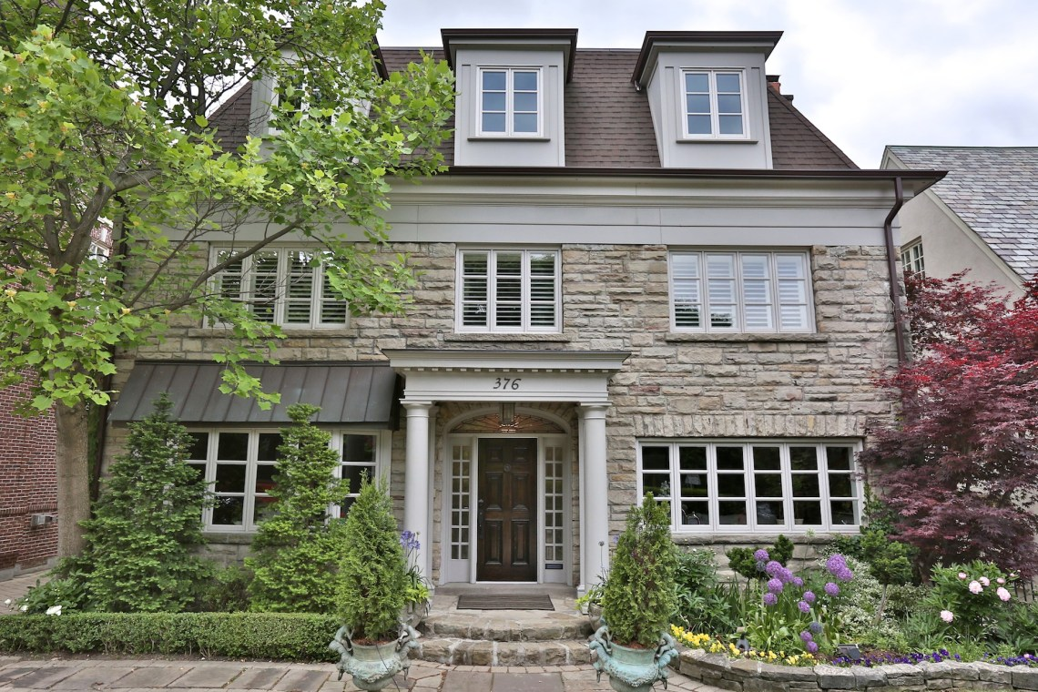 Amanda Lang's $5M Forest Hill Home Lists, 376 Russell Hill Road