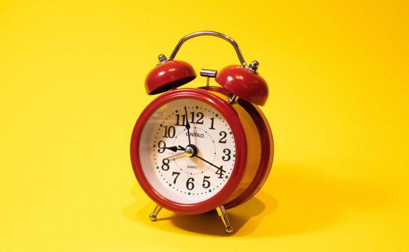 alarm clock signifying it's time to opt out of desired from the advance child tax credit