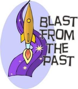 Rocket blasting off: blast from past