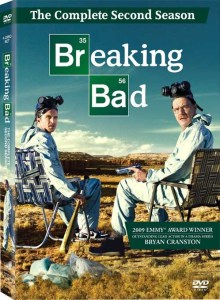 DVD box for second season of Breaking Bad