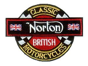 Norton motorcycles badge