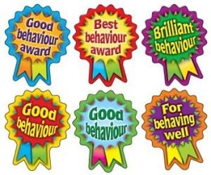 Good behaviour rosettes