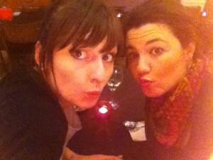 Mariacristina and Jagoda out in Streatham
