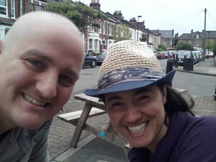 George and Mariacristina in Streatham