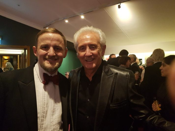 George and Tony Christie