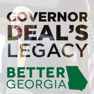 Governor Deal's Legacy on the Better Georgia Podcast