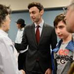 Jon Ossoff and supporters make history