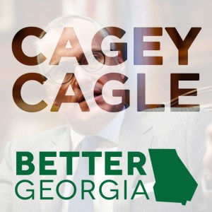 Cagey Cagle on the Better Georgia Podcast