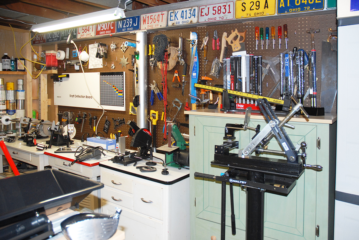 Our Machines Tools Equipment Golf Club Building