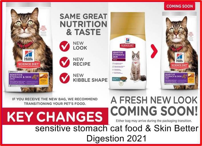 sensitive stomach cat food