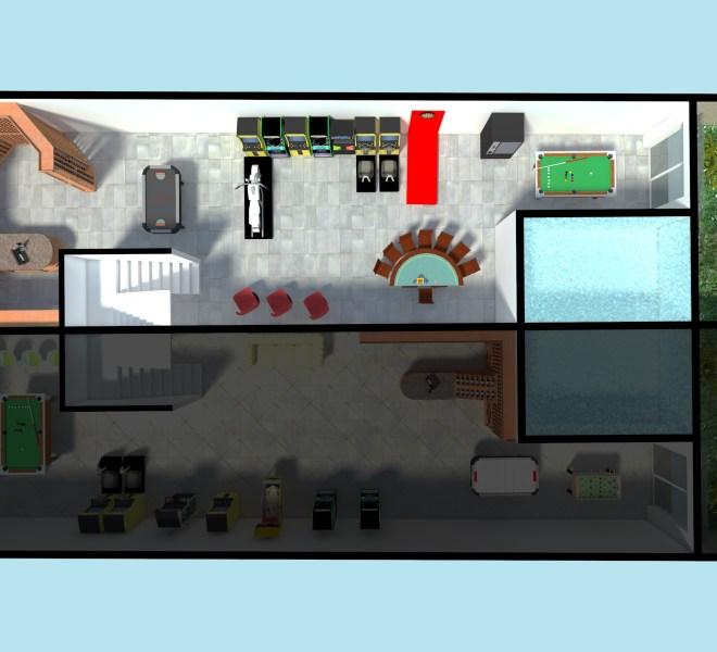 00 - Basement Floor - House 1