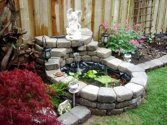 5 Easy DIY Projects Moms Can Do to Spurce Up Their Front ... on Front Yard Pond  id=47721