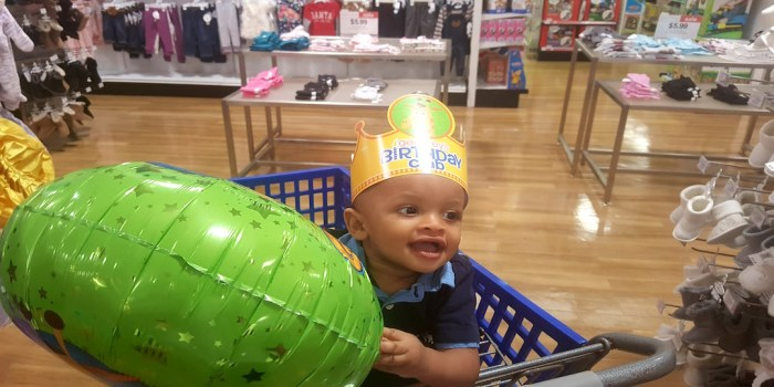 TJ's First Birthday