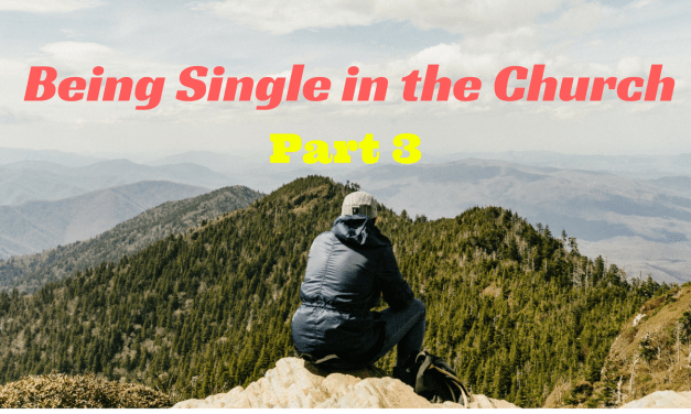 Being Single in the Church: Blessing or Curse (part 3)