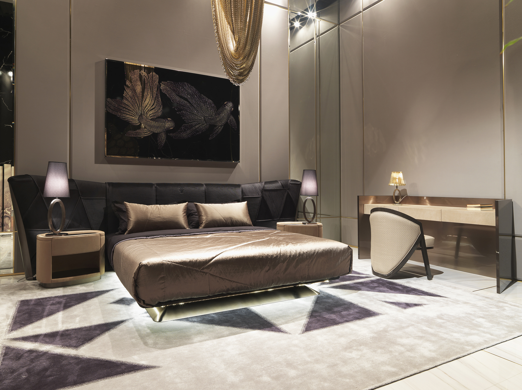 Elegant Bedroom Furniture Collection From Visionnaire
