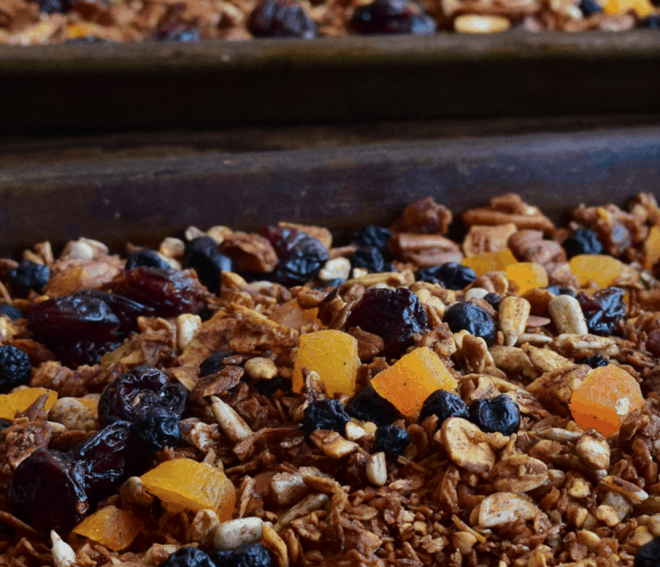 Cinnamon Buckwheat Granola by Foods with Judes