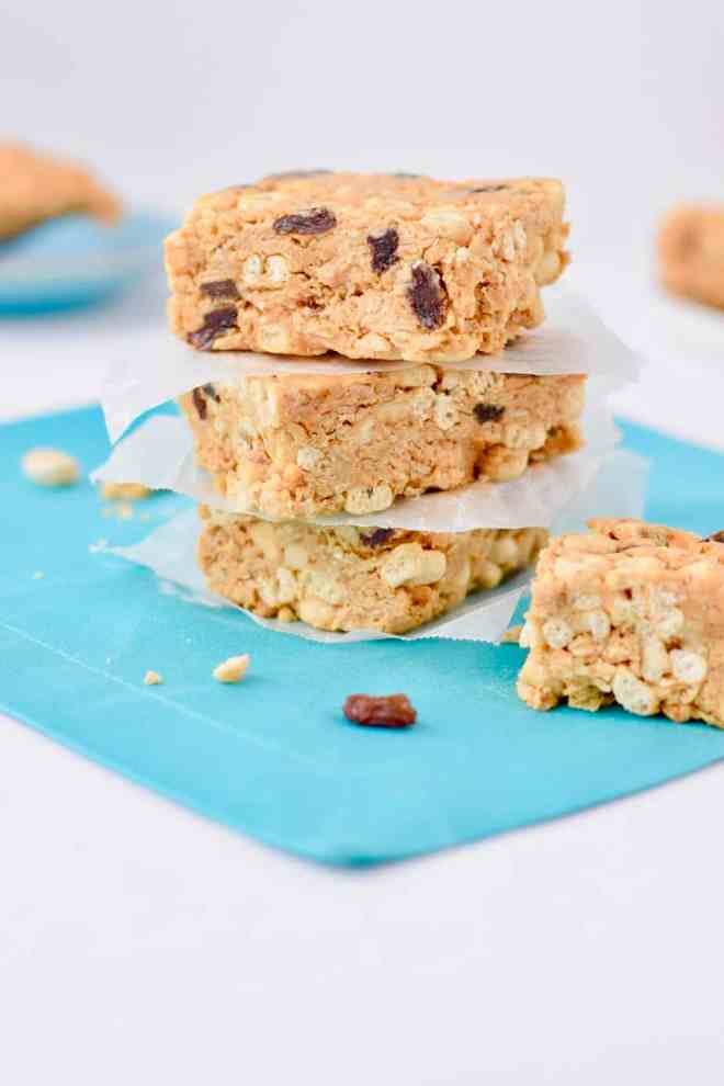 Peanut Butter Cereal Bars by Better Is the New Perfect