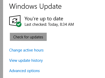How to Windows 10 Update