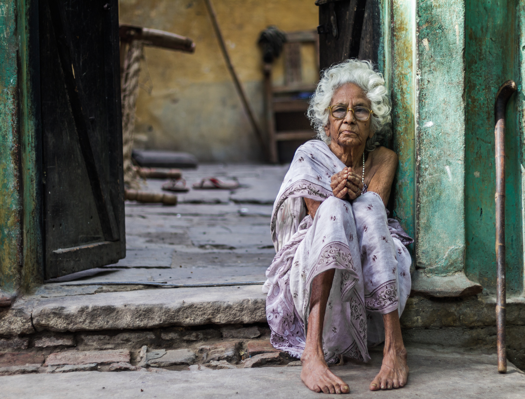 Image result for south indian Old lady painting