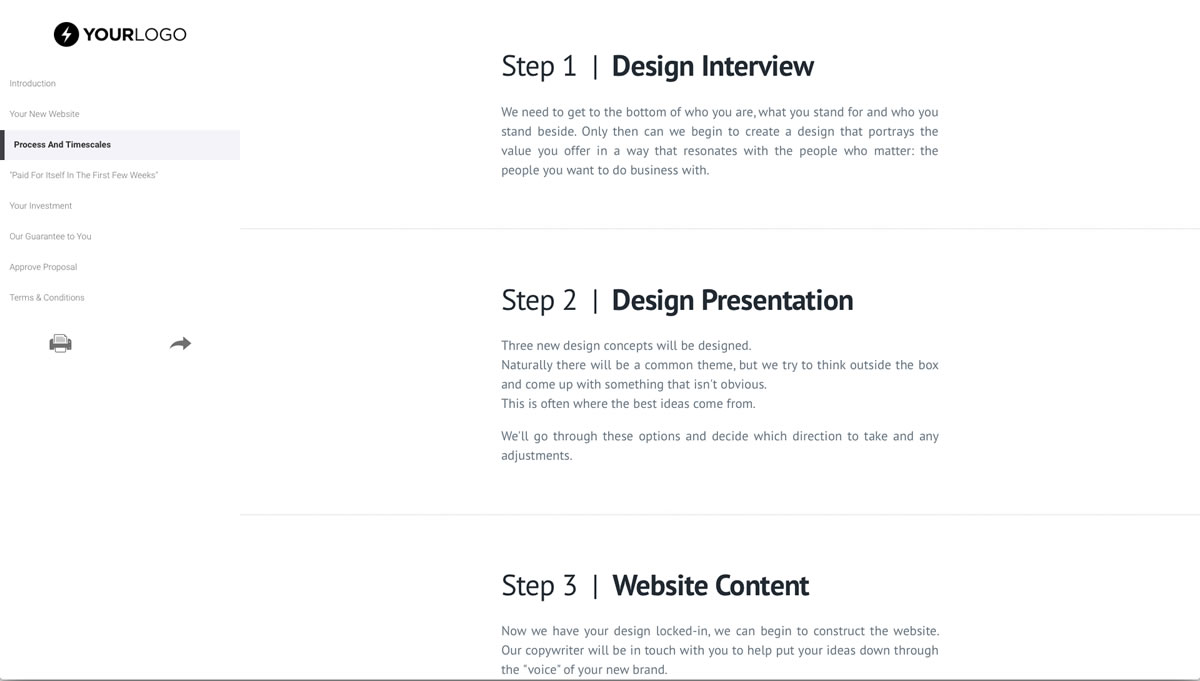 Save time with this web design proposal template and represent your brand well. This Free Ecommerce Web Design Proposal Template Won 155m Of Business