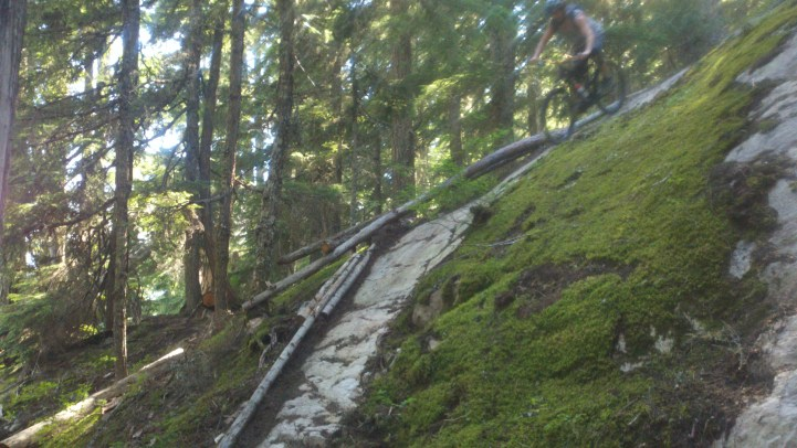 mountain bike braking