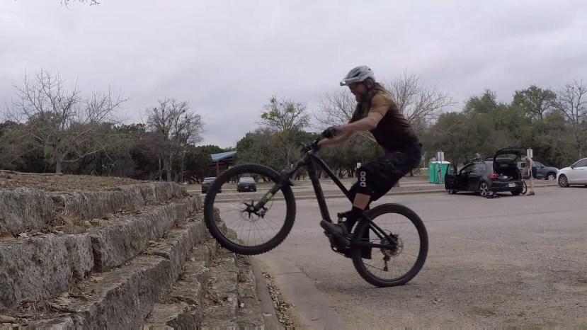 MTB how to weight shift