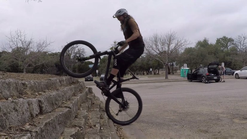 How to mtb, weight shift