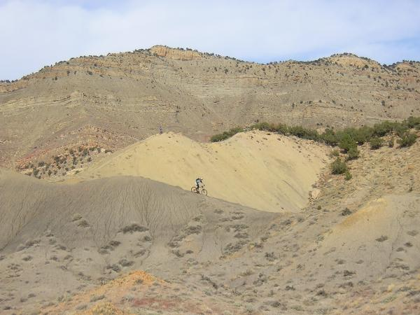 Mountain Biking in Sand, Fruita mtb trails