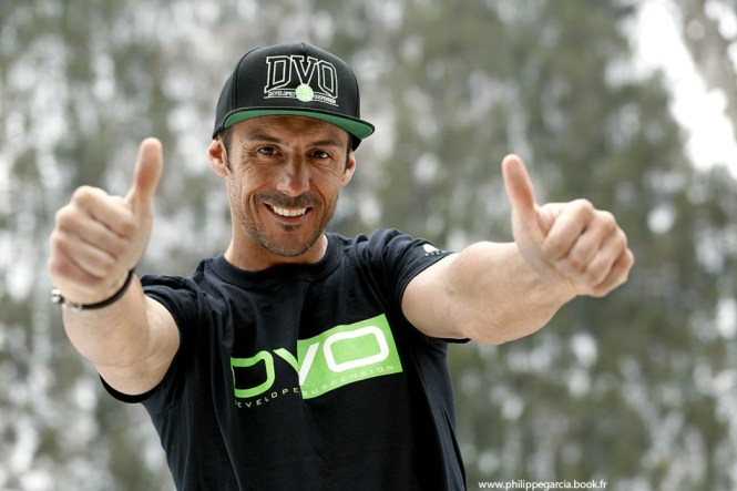 Mountain Bike Racer Cedric Gracia