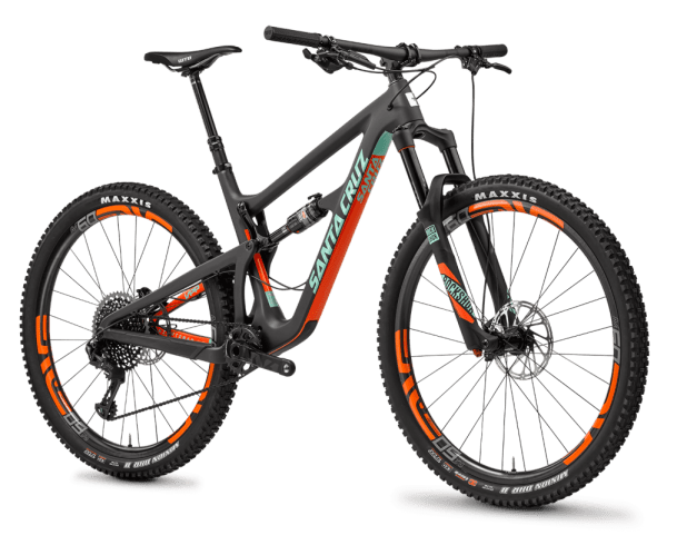 """Santa Cruz Hightower with 29"""" tires (like the Trek and Pivot it can run both 29 and 27.5 plus)"""