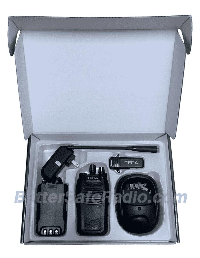 TERA TR-500 Commercial Ham Two-Way Radio - Box Inside