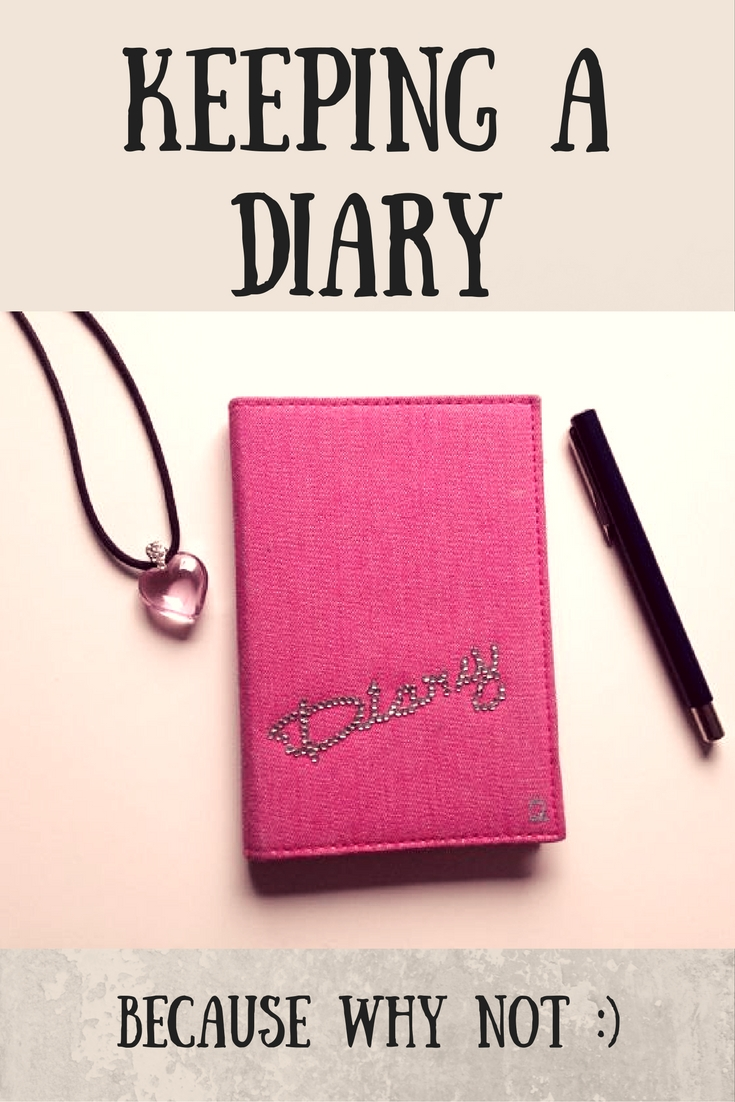 keeping a diary