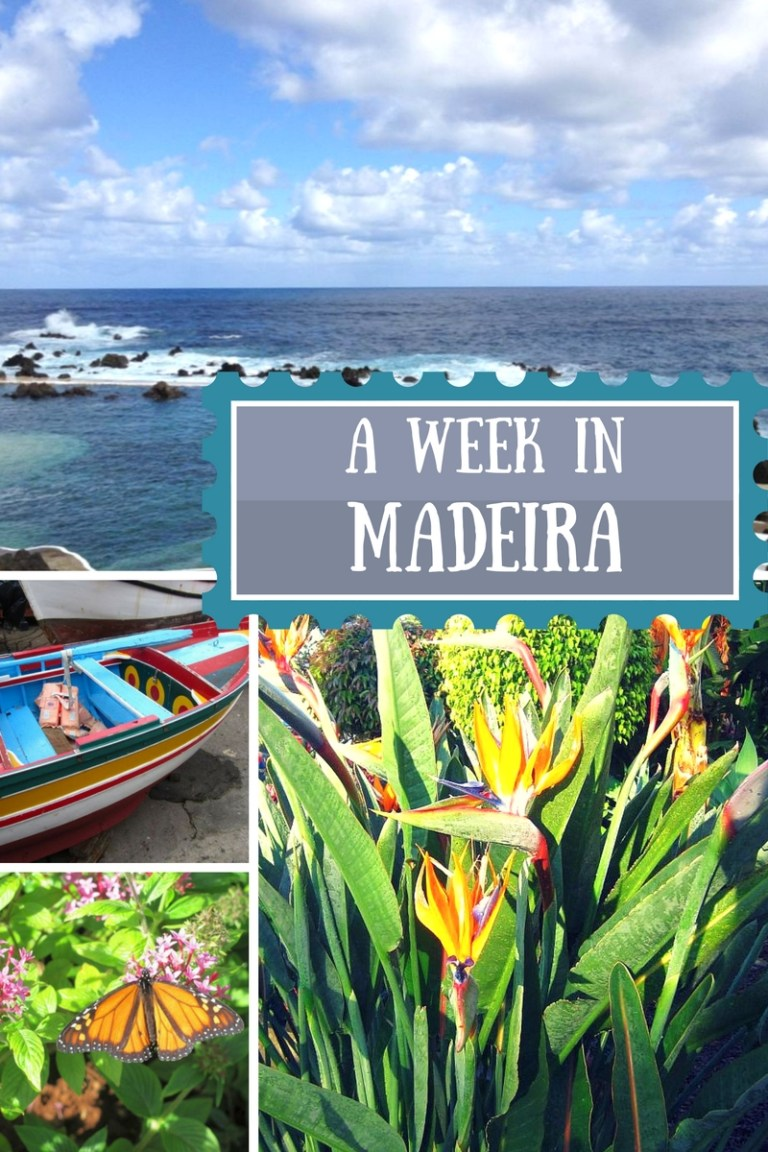 a week in madeira